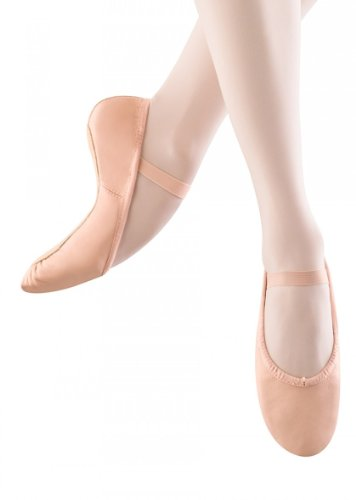 Youth Full Sole Full Grain Leather Ballet Shoes