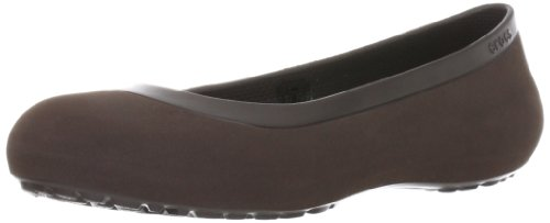 Crocs Women's Mammoth Flat,Espresso/Espresso,4 M US by Crocs