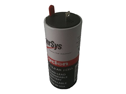 Enersys  Hawker  Cyclon 0840 0004 J Cell 2 Volt 12 Amp Hour Sealed Lead Acid Battery