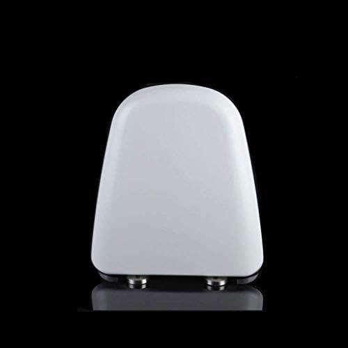 CXMWYトイレのふた 厚み付けソフトクローズ抗菌尿素 - ホルムアルデヒドトップ付き便座は、T形状の便座についてホワイト-40 WC-席をマウント〜46 * 37.5センチメートル