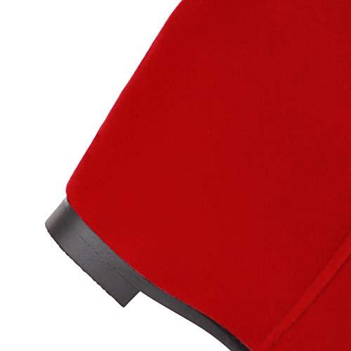 Botas Clásicas De Rojo Aiyoumei Mujer Terciopelo R7z5w6