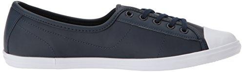 Lacoste Womens Ziane Sneaker Navy z1m43