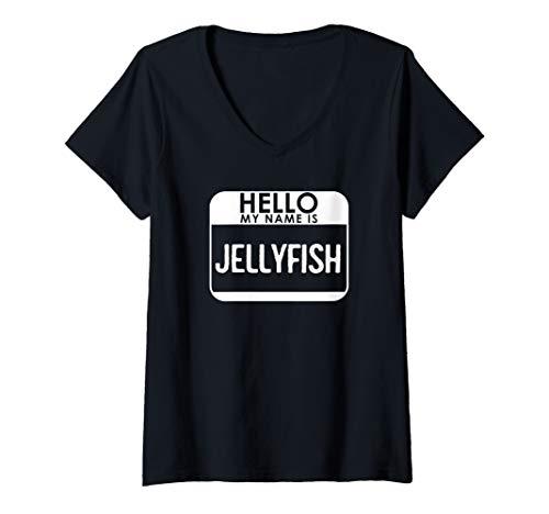 Womens Jellyfish Costume Shirt Funny Easy Halloween Hello
