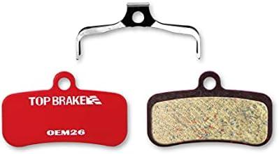 E-Bike Power Stop Compound,Organic Resin Ceramic Compound Top Brake Brake pad for Shimano Saint BR M810 M820 Zee M640 Tektro HD M745 735 725 TRP SL Slate T4