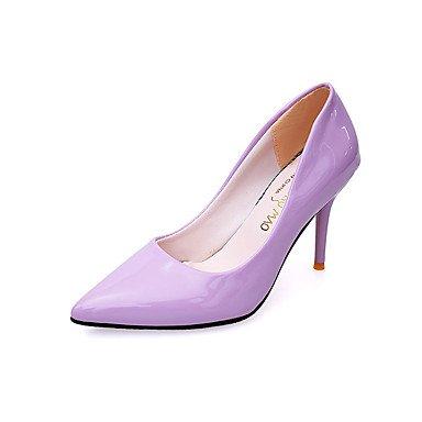 Zormey Les Talons Des Femmes Printemps ¨¦t¨¦ Automne Hiver Chaussures Club En Cuir Pu Confort Bureau Mariage &Amp Partie De Carri¨¨re &Amp Tenue De Soir¨¦e Nous Casualstiletto Purple5 / Eu35 / Uk3 / C