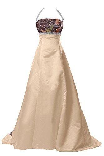 Watteau Train Empire Wedding Gown Evening Dress Long Champagne US20w (Watteau Train)
