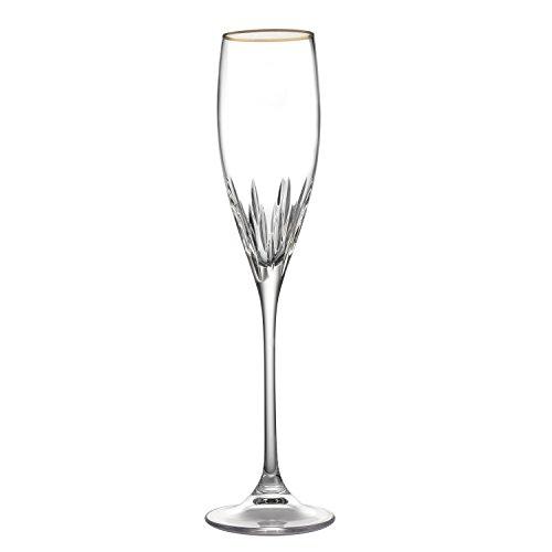 Vera Wang Wedgwood Duchesse Flute, Gold Vera Wang Crystal Goblet