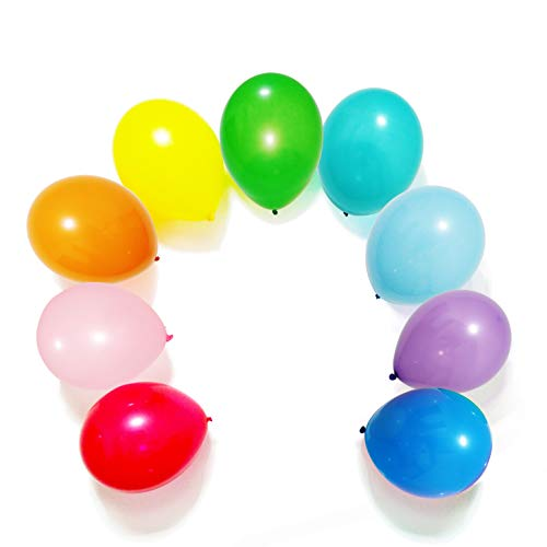 100pcs Latex Balloons, 12inch Multicolor to Celebrate Latex