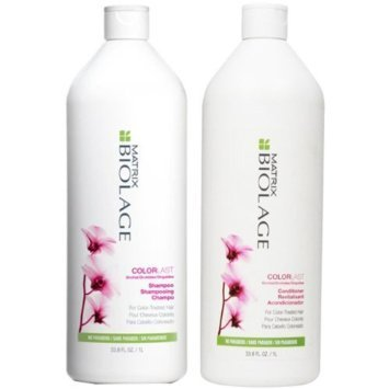 Price comparison product image Matrix Biolage ColorLast Shampoo and Conditioner 33.8 Ounce Set