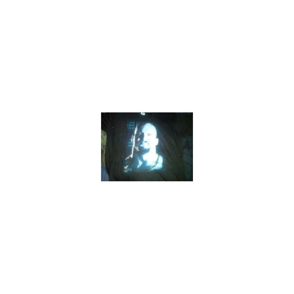 WWF WWE Rattlesnake Stonecold Steve Austin Medium (M) Black T Shirt