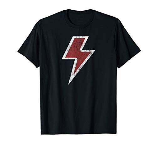 - Lightning Bolt Retro Vintage Rock & Roll Gift T-Shirt