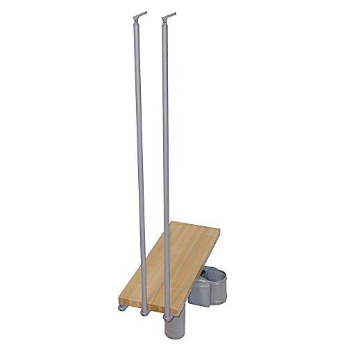 ARKE Kompact 29 in. Grey Modular Staircase Add Riser ()