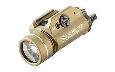 Streamlight TLR-1 Rail Mount Flashlight 800 Lumens 3V CR123A Lithium FDE