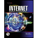 Internet : Sytems and Applications