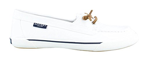 Sperry Women's Quest Rhythm Canvas White Loafer