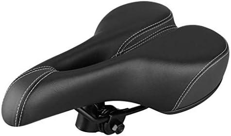 最も快適な自転車用シートndash;エクストラワイドでパッド入りの自転車サドルフロントシートビッグバムバイク自転車ジェルクルーザーエクストラスポーティーソフトパッドサドルシート