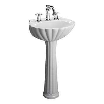Barclay 3 588WH Bali Pedestal Sink