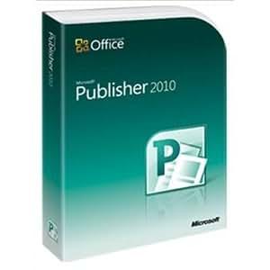 Microsoft Publisher 2010 - Complete Product - 1 PC - Desktop Publishing - Academic - DVD-ROM - PC