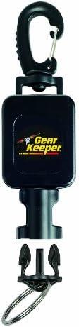 Hammerhead Industries Gear Keeper Small Scuba Flashlight Retractor RT4-5912 Large Heavy-Duty Swiveling Snap Cl