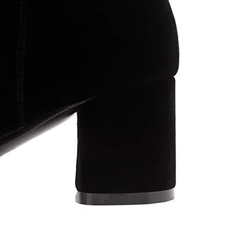 Noir Compensées Balamasa Sandales Femme Abl11985 BIgXqg