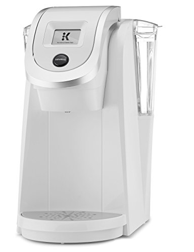 Keurig K250 Single Serve, Programmable K-Cup Pod Coffee Maker, White-ExcLife