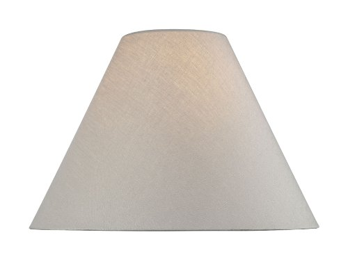 lite source ch121116 16inch lamp shade linen empire - Large Lamp Shades