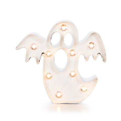 [Darice 3115-124 Halloween Marquee Ghost Light Up Seasonal Decor] (Halloween Decor For Home)