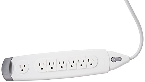 Belkin 7-Outlet SurgeMaster Home Series Power Strip Surge Protector with 5-Foot Power Cord, 785 Joules (F9H700-05)