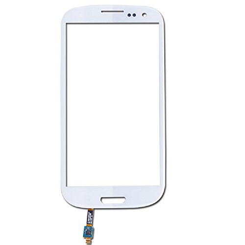 JingXiGuoJi® Novelty Touch Screen Glass Digitizer Replacement for Samsung Galaxy S3 i9300 (White)