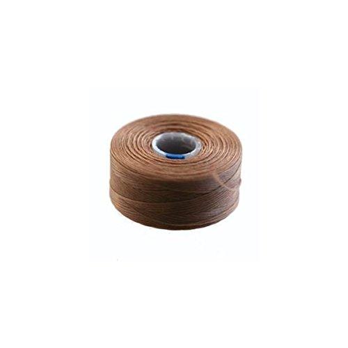 Bobina 71/M filo C-Lon 0.06/mm marrone chiaro
