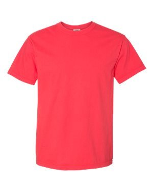 Comfort Colors 6.1 Oz. Ringspun Garment-Dyed T-Shirt (C1717)- Berry,XX-Large Comfort Colors 100% Garment