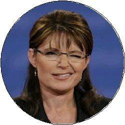 (* SARAH PALIN WINK * Presidential Election / President / Vice President Political Pinback Button 1.25