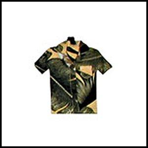 Tag Vintage Hibiscus Yellow (Hawaiian Shirt Luggage Tag)