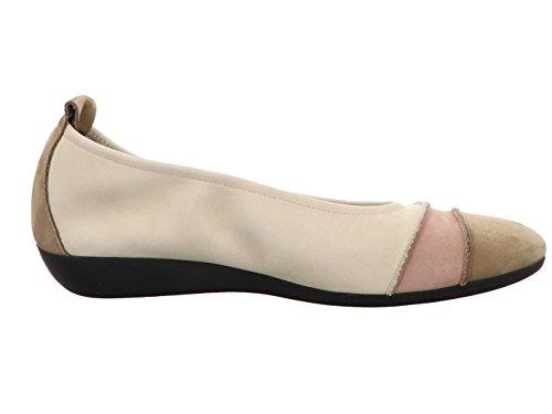 Arche Onanya Onanya Sand/BLUS Damen Ballerina & Spangenschuhe in Mittel SAND/BLUSH/PERLE
