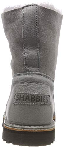 Women's grey Grau Boots Shabbies 2002 Shs0290 Slouch 4qxPTTA