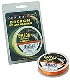 Crystal River Dacron Fly Line Backing, 50 Yards (Orange), Outdoor Stuffs
