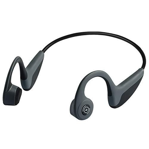 Bone Conduction Headphones Bluetooth 5.0 Open-Ear Wireless Sports Headsets w/Mic