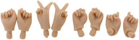 DYNWAVE 人形 ドール ハンド 関節ハンド ジョイントハンド 可動式 ブライス人形対応 全2種類 - 02