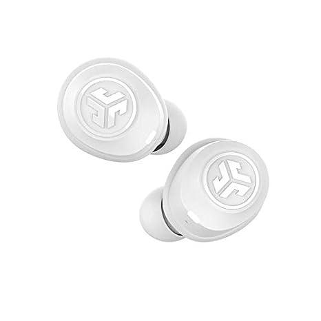 82c2748f2d7 JLab Audio JBuds Air True Wireless Signature Bluetooth Earbuds + Charging  Case - White - IP55 Sweat Resistance - Bluetooth 5.0 Connection - 3 EQ  Sound ...
