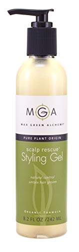- Scalp Rescue Styling Gel – 8.2 Fluid Ounces - Organic Formula Unisex Gel – Control frizz and fly away hair – Curly hair community favorite - Gives a Flexible Hold