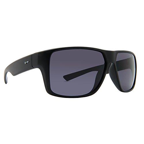 Dot Dash Mens Turbo Polarized Sunglasses Black/Grey Poly - Sunglasses Dash Dot