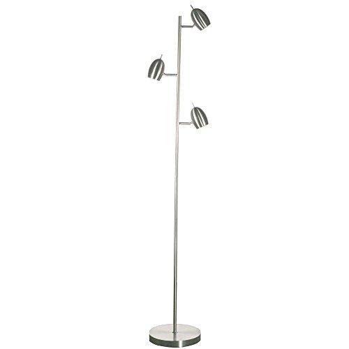 Dainolite 3 Light Satin (Dainolite 3 Light Adjustable Floor Lamp in Satin Chrome)