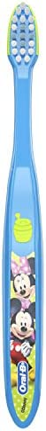 Oral-B Kid's Toothbrush featuring Disney's Mickey and Minnie Mouse, Soft Bristles, For Children and To