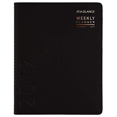 Brands Acco Planner (AT-A-GLANCE 2019 Weekly & Monthly Planner / Appointment Book, 8-1/4