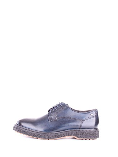 Navy Riot London Scarpe Derby Stringate Base Washed Uomo 5qxYdqn