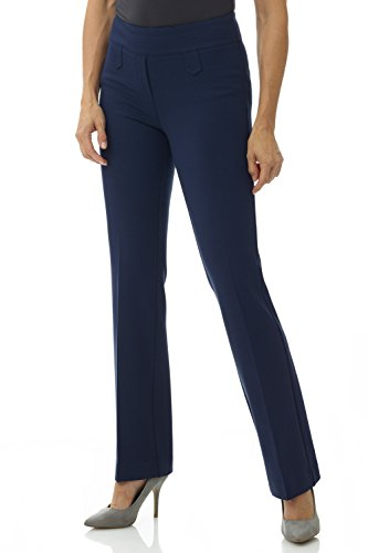 Navy Knit Pants - 5