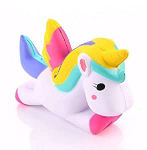 Squishy Unicorn Slow Rising Decompression Squeeze Toys, Stress Relief Toy For Kids Child