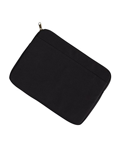 Big Accessories Bagedge (A Product of BAGedge 10 oz. Canvas Laptop Sleeve -Bulk Discount Saving)