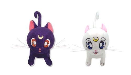 (Set of 2 Great Eastern Sailor Moon - Luna / Artemis)