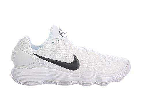 Nike Heren Reageren Hyperdunk 2017 Lage Witte / Zwarte Synthetische Hardloopschoenen 8 D Ons